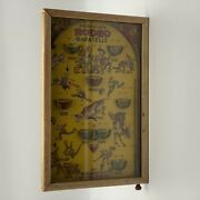 Vintage 1930and039s Poosh-m-upand039s Rodeo Bagatelle Pinball Game 4 Games In 1 Baseball