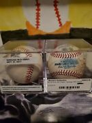 Alex Verdugo Mlb Debut Game Used 3rd Career Ab And Kike Base Hit On Same Ball