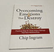 Overcoming Emtions That Destroy Small Group Bible Study Book Chip Ingram