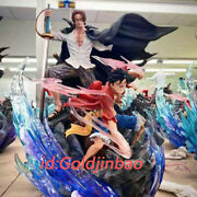 Mr.j Studios One Piece Resin Statue Shanks And Luffy Figure In Stock 46cm Anime