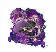 Fate Stay Night Heavenand039s Feel Rider Acrylic Desk Clock Japan Limited