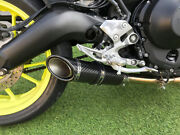Yamaha Mt09 Exhaust System Sp Engineering Carbon Stubby Sc-1 2013 2014 2015 2016