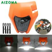 Dual Sport Motorcycle Led Headlight Fairing For Sx Exc 530 Xc-w Six Days