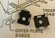 Athearn / A-line Ho 1 Pair Metal Coupler Cover Plates Part 90602 Or 11005new