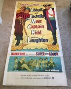 Abbott And Costello Meet Captain Kidd 3 Sheet Movie Poster  Hollywood Posters