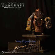Damtoys Magni Bronzebeard Resin Model Painted Statue In Stock Collection Figure