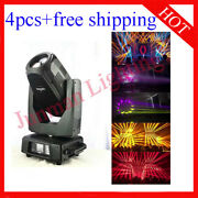 350w 17r Beam Spot Wash 3 In 1 Moving Head Stage Party Light 4pcs Free Shipping
