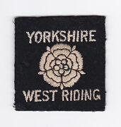 British / United Kingdom Scouts Uk Scout Yorkshire West Riding County Badge E+++
