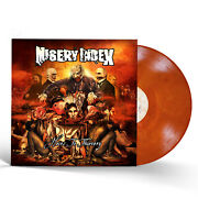 Misery Index Heirs To Thievery Translucent Orange Colored Vinyl Lp X/100