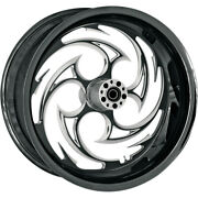 Rc Components Rear Wheel - Savage - Eclipse - 18 X 5.5 - W/abs | 18550-9210a-85e