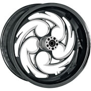 Rc Components Rear Wheel - Savage - Eclipse - 18 X 5.5 - W/abs   18550-9210a-85e