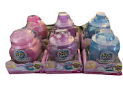 New Pikmi Pops Lot Of 6 Surprise Cheeki Puffs Scented Shimmer Puff Nip Ages 4+