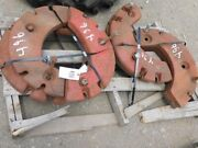 Two Complete Sets Of International Harvester 1/2 Wheel Weights Tag 496