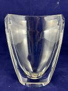 Mint Waterford Crystal John Rocha Spotted Eclipse Vase - 8 Tall