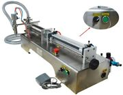110v 100-1000ml Liquid Fill Machine With One Nozzle Stainless Steel For Liquid