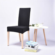 4/8pcs Polyester Elastic Chair Cover Modern Simplicity Hotel Home Decoration