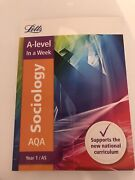 A Level Sociology Year 1 Revision Guide Which Supports The Aqa Original Textbook