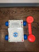 Fisher Price Vintage Chatter Phone As Seen In Toy Story