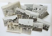 Lot Of 17 Antique Early 1900's Football Game Photos By Jordan Co. Austin Texas