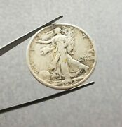 1934 Walking Liberty Half Dollar Silver Coin Bullion Invest Us Usa Round Early