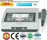 Portable Ultrasound 1mhz And 3mhz Physiotherapy Chiropractic Use Digisonic-2s Unit