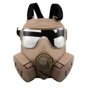 Game M50 Gas Mask Army Fan Riding Tactical Protective Masks Cs Skull Helmet Cos