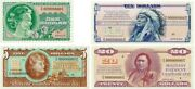 Preproduction 4 Notes Series 692 Military Payment Certificates Mpc