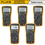 Fluke 113 114 115 116hvac 117 True Rms Digital Multimeters With Kit Options