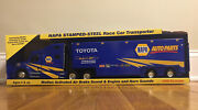 Nylint Napa 2007 25 Michael Waltrip Race Car Transporter Open For Display Only