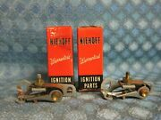 1952-56 Lincoln And Continential Ford And Mercury V8 Nors Pr Of Ignition Point Sets