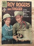 Roy Rogers And Trigger Comic Book Dell Western Adventure Vol. 1 No. 135 1960