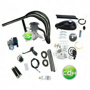Cdhpower New Cylinder Super Pk80 Motor Kit W/racing Head And Black Exhaust 80cc