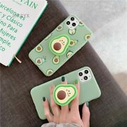Luxury Cute Cartoon Fruit Avocado Soft Silicone Phone Case For Iphone 6 To Se 20