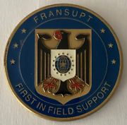 Cia Frankfurt Germany Europe Mission Center Logistics And Support Branch Coin