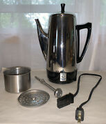 Presto 2-12 Cup Stainless Steel Automatic Percolator Coffee Pot 0281104
