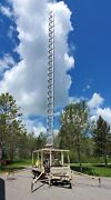 Tower Solutions Ptm-100 Mobile Trailer Telescoping Tower Radio Surveillance