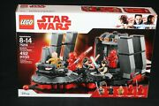 Lego Star Wars 75216 Snokeand039s Throne Room 2018 New Sealed The Last Jedi