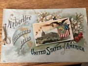 Arbuckle Coffee Co Atlas Of The United States Rare 1889