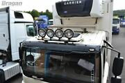 Roof Bar + Spot Lamps For Foden Alpha Low Cab Truck Chrome Stainless Steel Truck