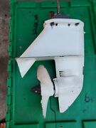 Chrysler 8hp Outboard Lower Unit Gearcase Model 82hh-9245