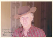 Peter Hurd - Inscribed Photograph Signed