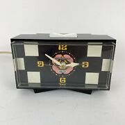 Vintage Ge General Electric Peter Max Alarm Clock Pop Art 60andrsquos 70andrsquos Tested Works