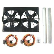 For Chevy Chevelle 1968-1973 Dewitts Radiator Fan Kit