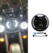 Motorcycle 7 Inch Led Headlight Turn Signals Tail Lights For Harley Davidson
