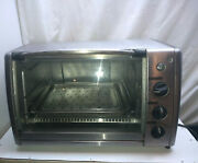 General Electric Stainless Countertop Broil Bake Convection Toaster Oven