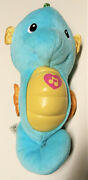 Fisher Price Ocean Wonders Soothe And Glow Seahorse Blue Infant Crib Soother