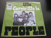 People - Ulla / Turnin' Me In 1969 Capitol germany Larry Norman Very Good