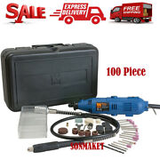 Variable Speed Rotary Tool Kit Dremel Rotary Grinder Cutter With Flex Shaft