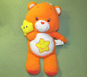 28 Care Bears Baby Laugh A Lot Plush Orange Teddy With Yellow Star Large Lovey