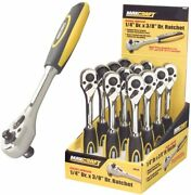 Maxcraft 60213 1/4-inch Drive By 3/8-inch Drive Dual Drive Ratchet